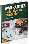 Warranties for Builders and Remodelers 2nd Edition